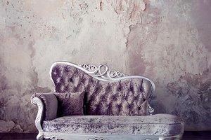 Grunge Styled Interior.