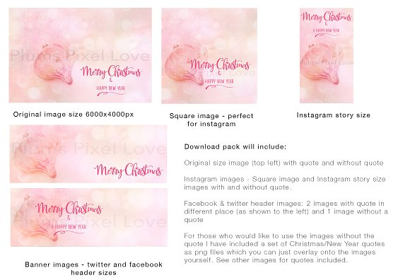 Christmas social media bundle ~ Social Media Templates ~ Creative Market