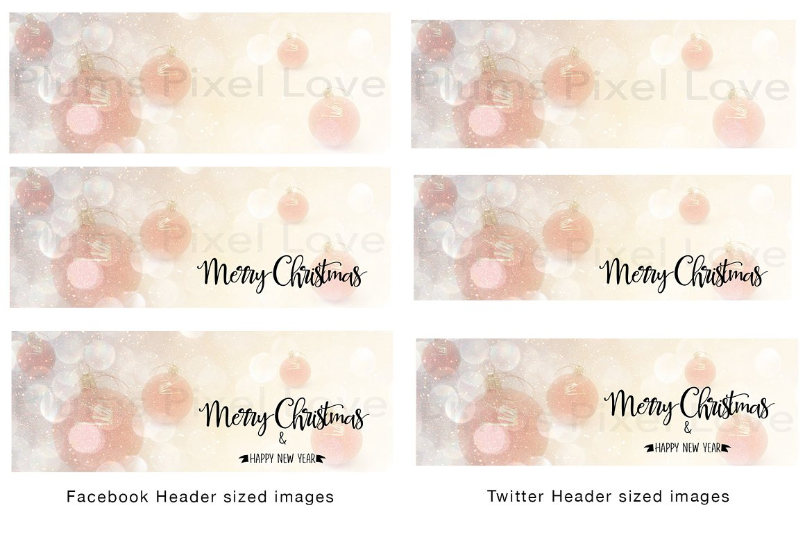 Christmas social media bundle