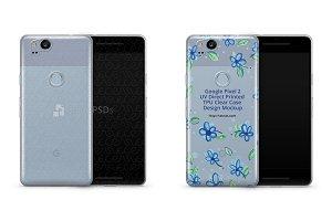 Google Pixel 2 UV TPU Clear Mobile C