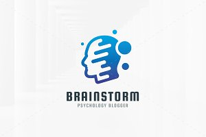 Brainstorm Logo Template