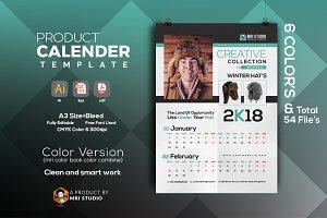 Calander Template 2018