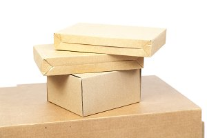Brown boxes paper overlay.