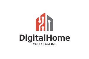 Digital Home - Smart Home Logo