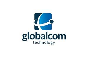 Globalcom - Planet Logo