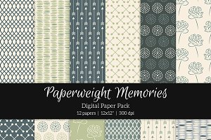 Patterned Paper - Sticks & Stones
