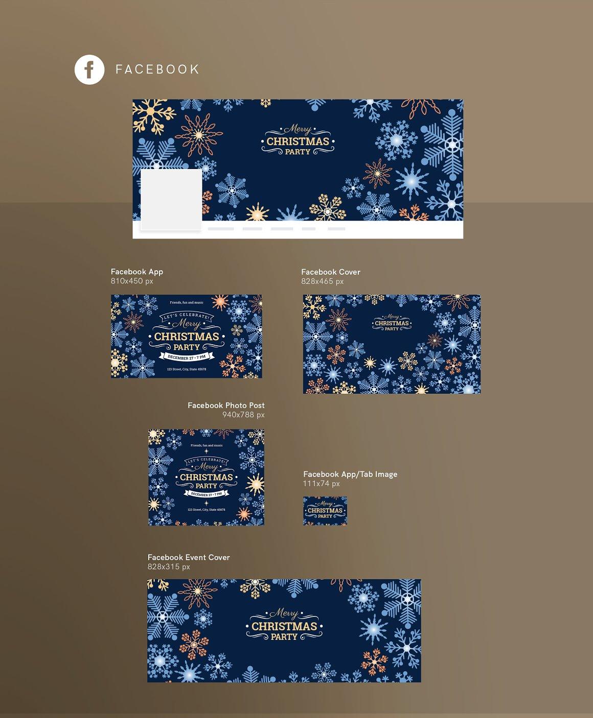 SocialMediaPack|MerryChristmasParty