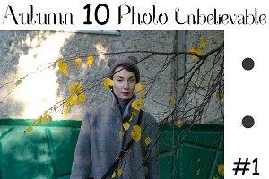 Autumn girl Ilmira, photosession