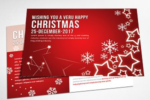 Christmas - Postcard Templates