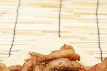 Fried pork curry
