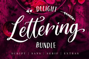 Delight Lettering Bundle