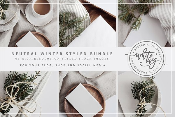 Neutral Winter Styled Stock Bundle