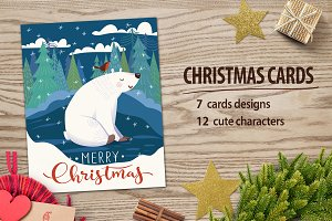 Christmas cards design