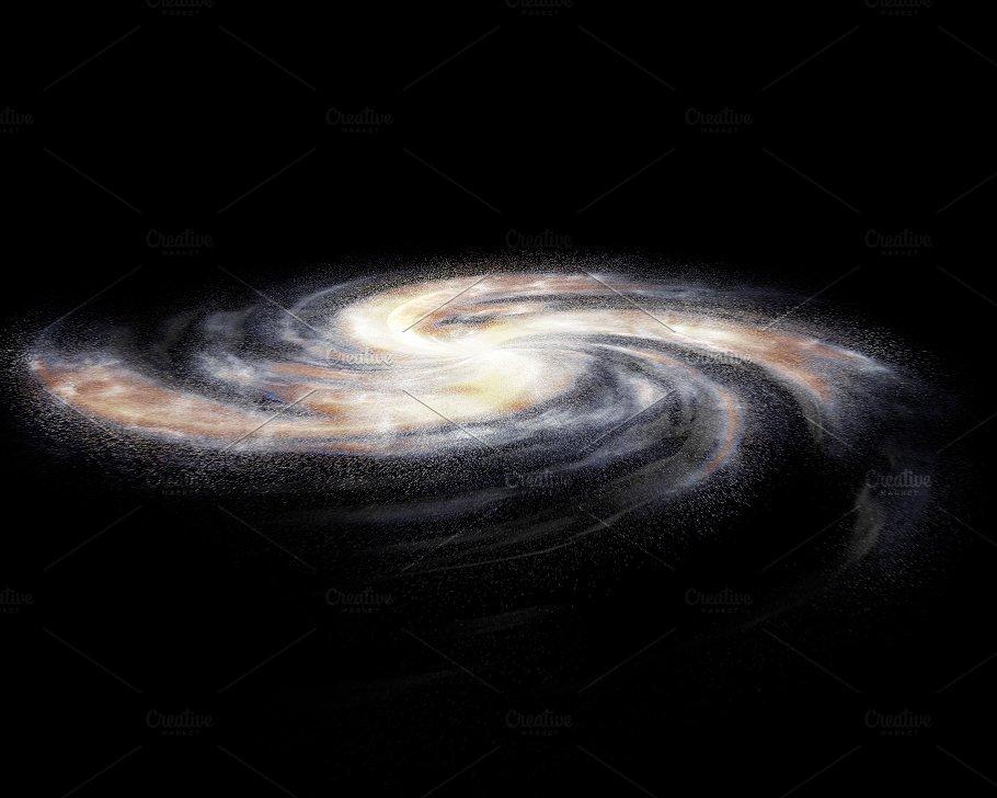 Galaxy in 3D