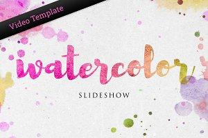 Watercolor Photo Slideshow - AE