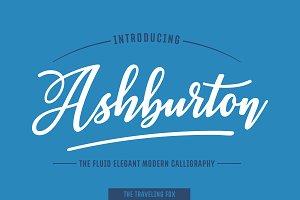 Ashburton - Decorative Script