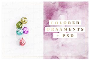 Ornament Styled Stock Set + PSD