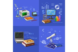 Devices for Educational Activities Illustrations