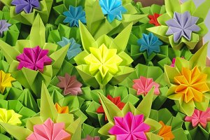 Origami bunch