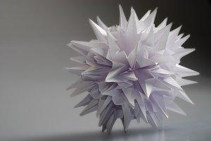 Origami kusudama Virus