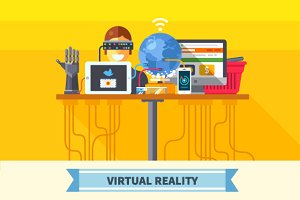 Virtual reality. New technologies