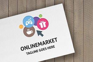 Online Market Logo