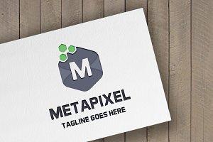 MetaPixel Letter M Logo