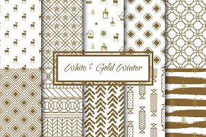 White and Gold Winter