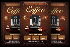 Coffee Party Flyer