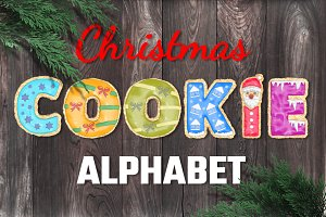 Christmas Cookie Alphabet
