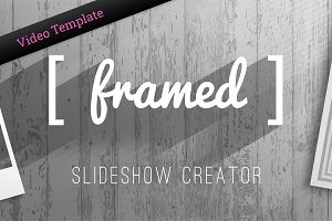 Framed - Slideshow Creator - AE