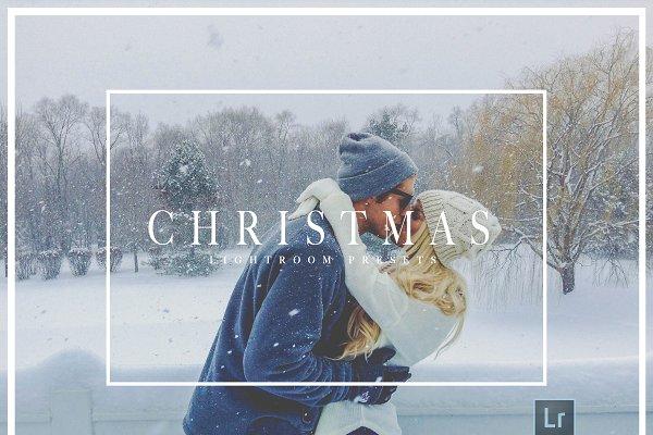 Christmas / Winter Lightroom Preset…