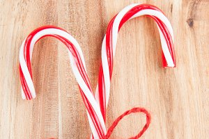 candy canes for Christmas