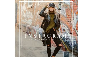 Instagram Lightroom Preset Bundle