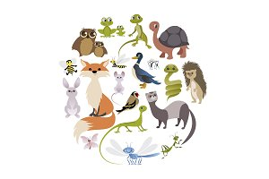 Circle of Animals