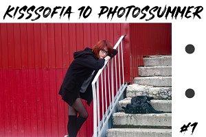 Kiss Sofia Ten Summer Photos