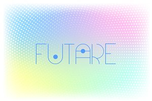 Futare - Futuristic Display Font
