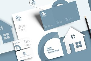 Real Estate Stationery Design
