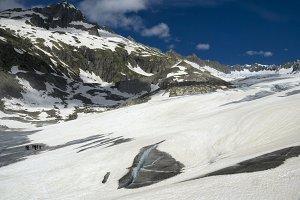 Rhone Glacier expedition