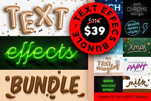 Text Effects Bundle