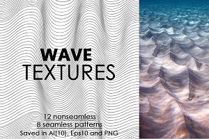 20 Wave textures