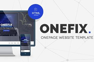 Onefix - Responsive Onepage Template