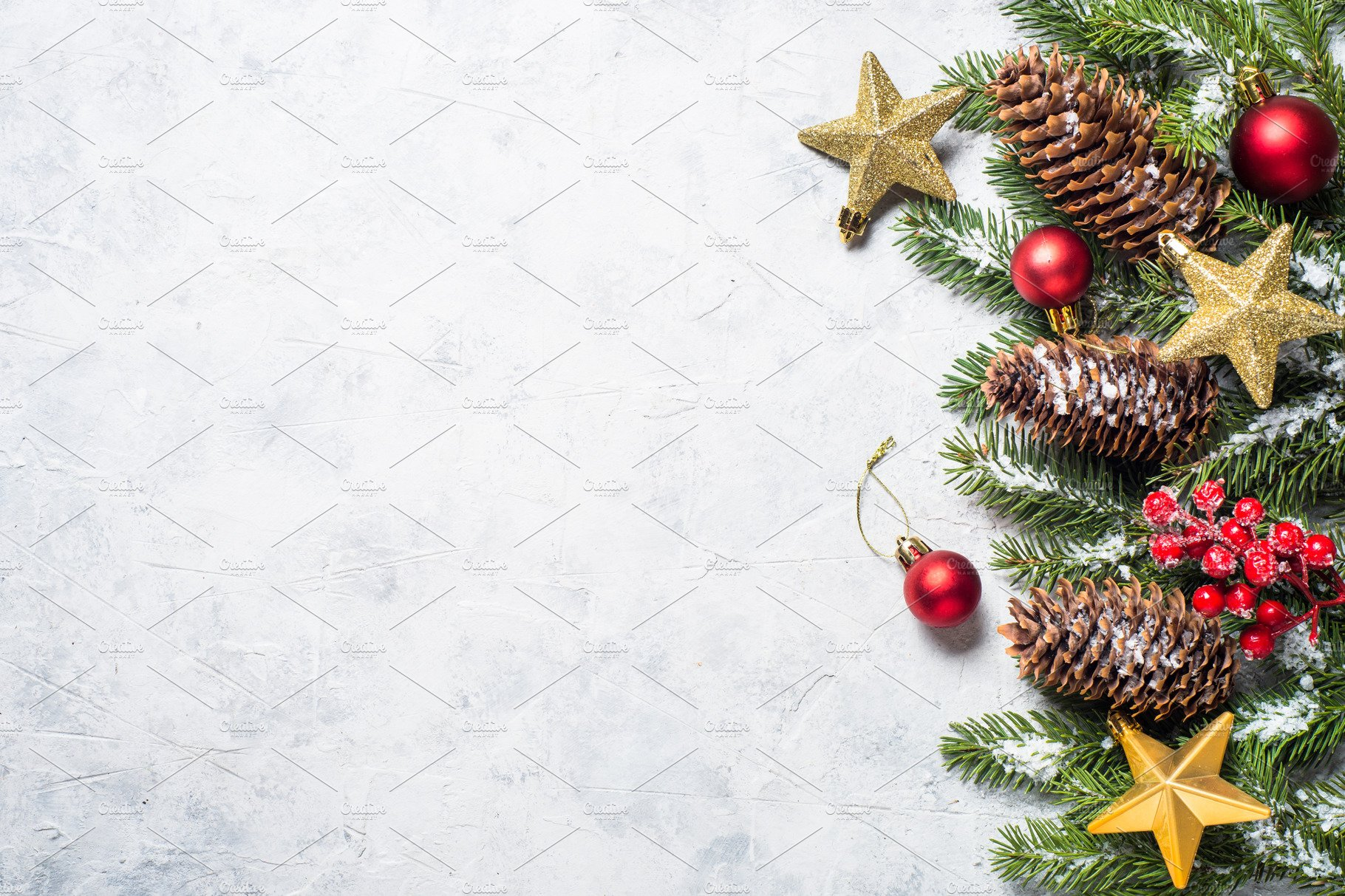 Christmas Holiday Background Photograph By Anna Om: Christmas Background