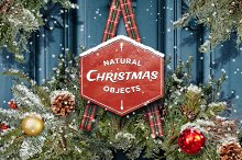 Natural Christmas Objects Bundle