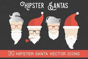 Hipster Santas