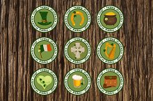 St. Patrick's Day Design Elements