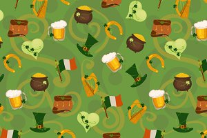 St. Patrick's Day Design Elements