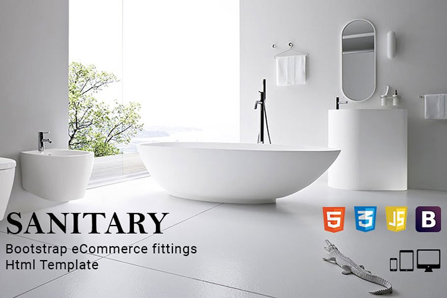 Sanitary - eCommerce HTML Template