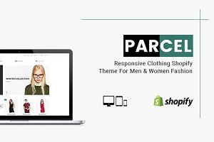 Parcel - Clothing Shopify Theme