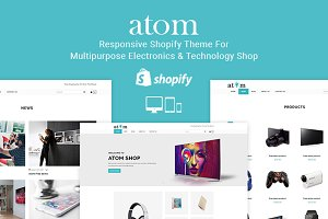 Atom - Electronics Shopify Theme